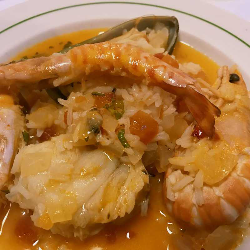 Dinner at Três Palmeiras