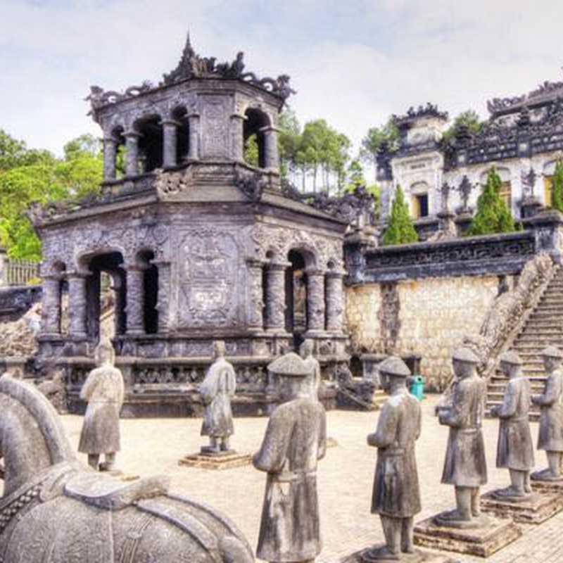 Royal Tomb of Khai Dinh King