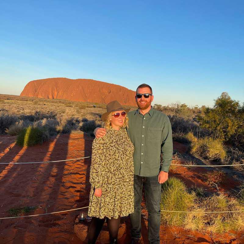 Uluru Coach Sunset Viewing Area