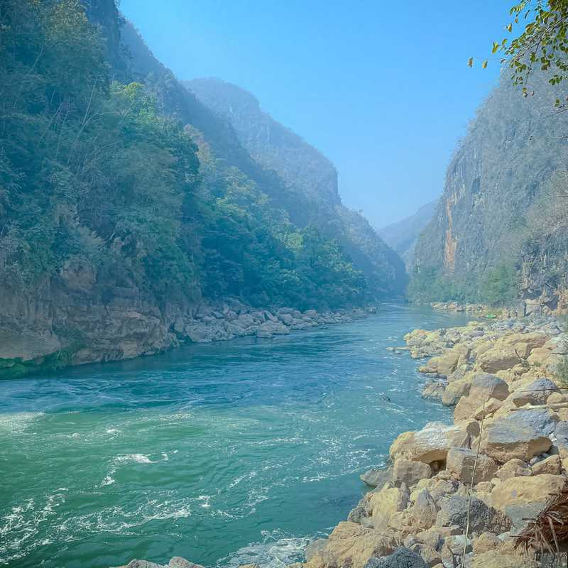 Mae Haung Bam Bon Duttawadi River
