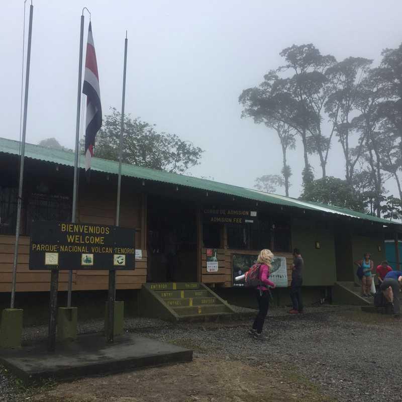 Parqueo del Parque Nacional Tenorio
