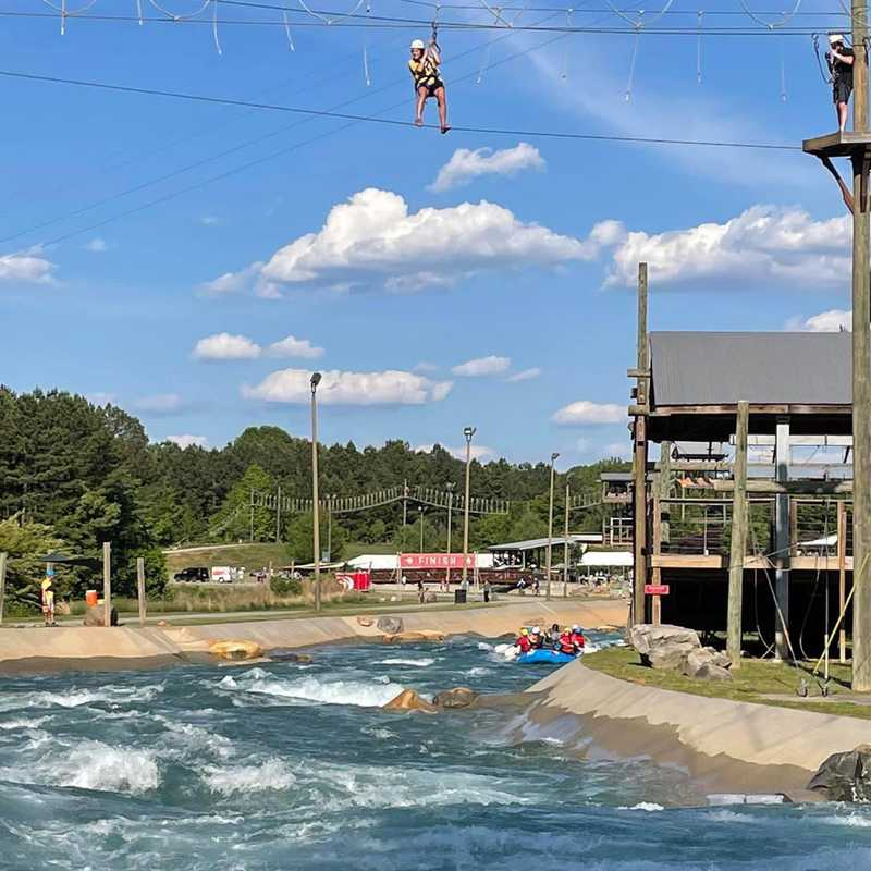 Trip Blog Post by @garypierce46: US National Whitewater Center 2021 | 1 day in May (itinerary, map & gallery)