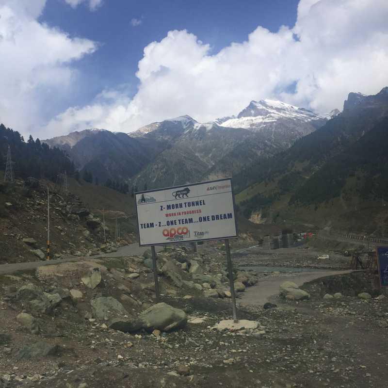 Sonamarg Welcome ridge
