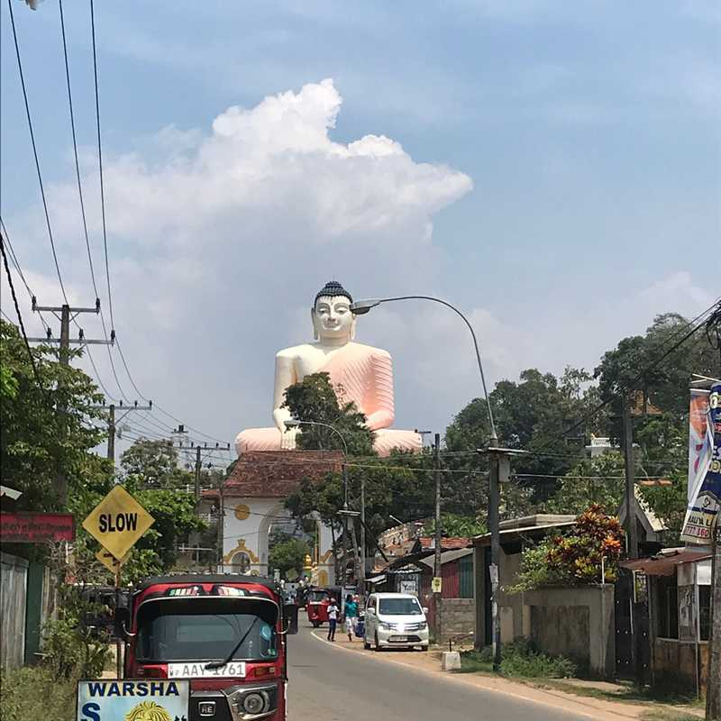 Kande Viharaya Buddha Statue