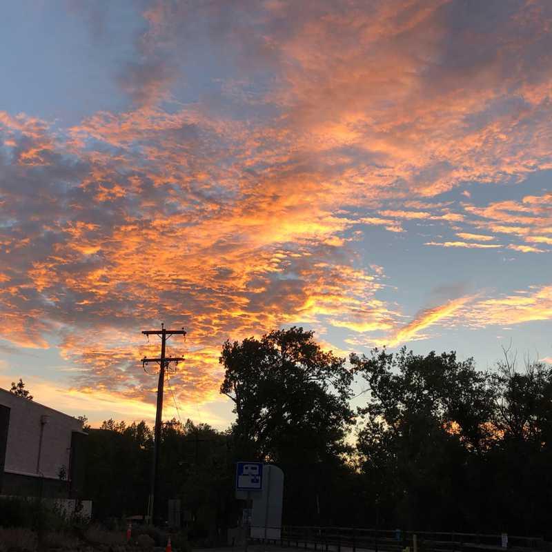 Last Sunrise in Golden