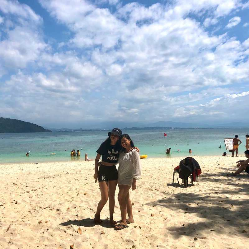 Sapi Island, Kota Kinabalu, Sabah.