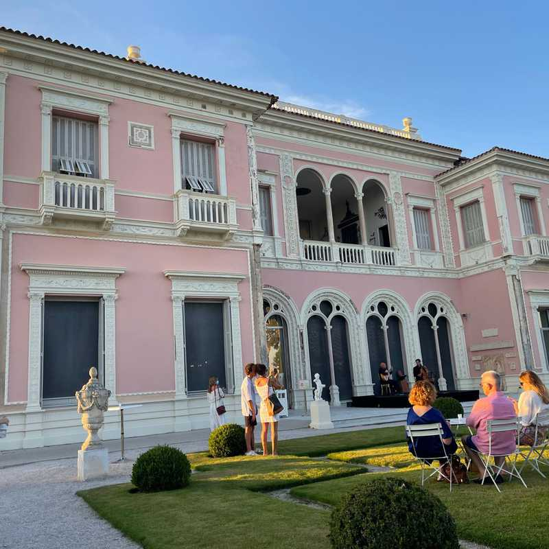 Evening performance at Villa Ephrussi de Rothschild