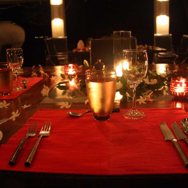 Dinner at Kahanda Kanda
