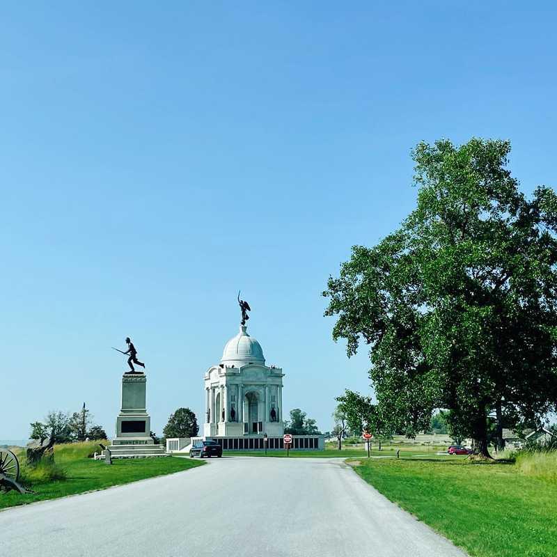 Gettysburg Auto Tour Stop 12
