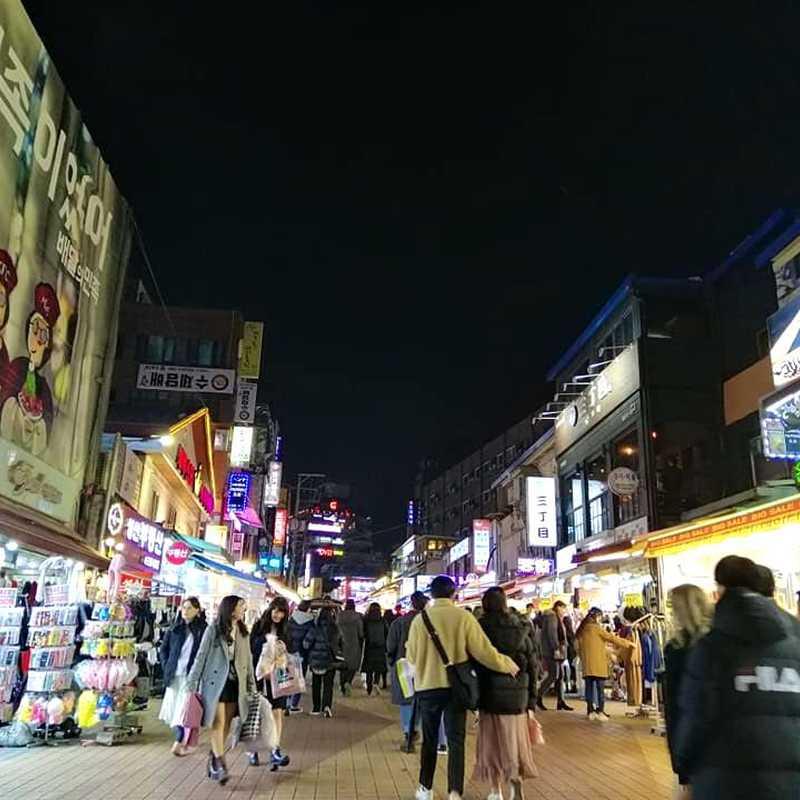 Hongdae Food Street