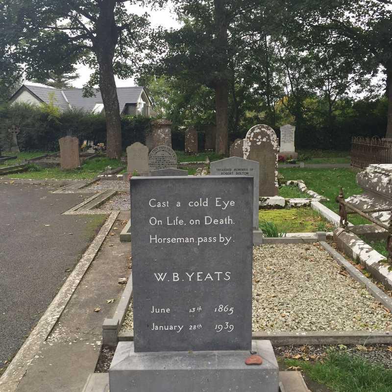 Drumcliffe Church & W. B Yeat's Grave