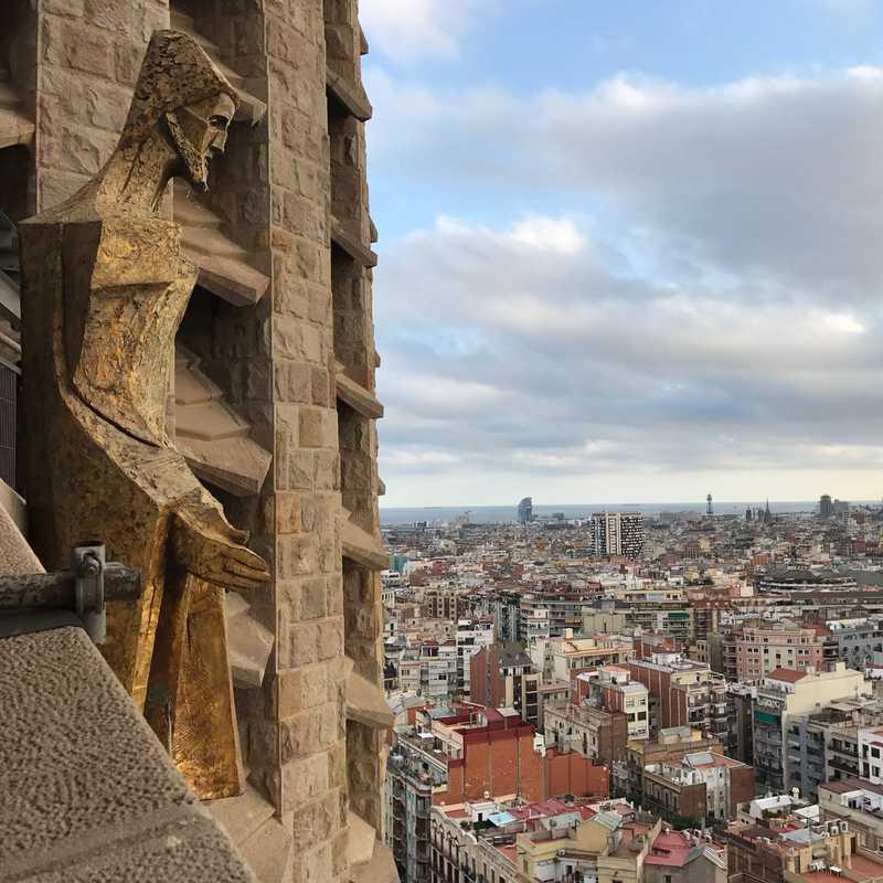 Passion Tower Tour at Sagrada Familia