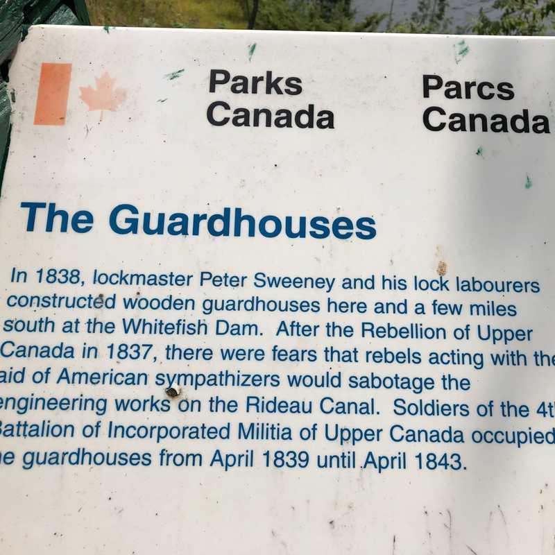 Rideau Canal, Locks 39-42 - Jones Falls