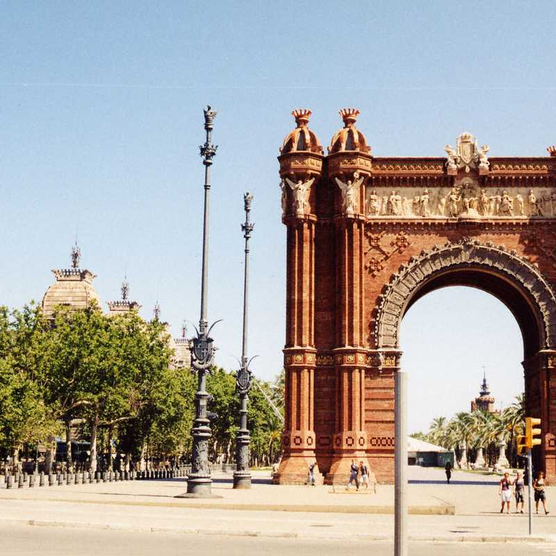 Trip Blog Post by @rodney_n: Barcelona 2000 | 1 day in Jul (itinerary, map & gallery)