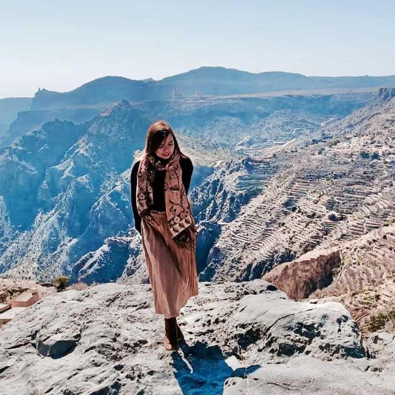 Jabal Al Akhdar Viewpoint or Diana Viewpoint