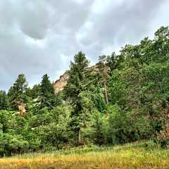 Castlewood Canyon State Park - West Entrance