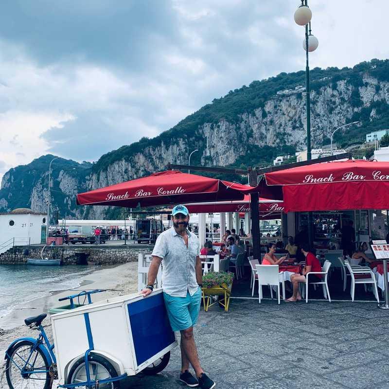 Fontana della banchinella Marina Grande Capri