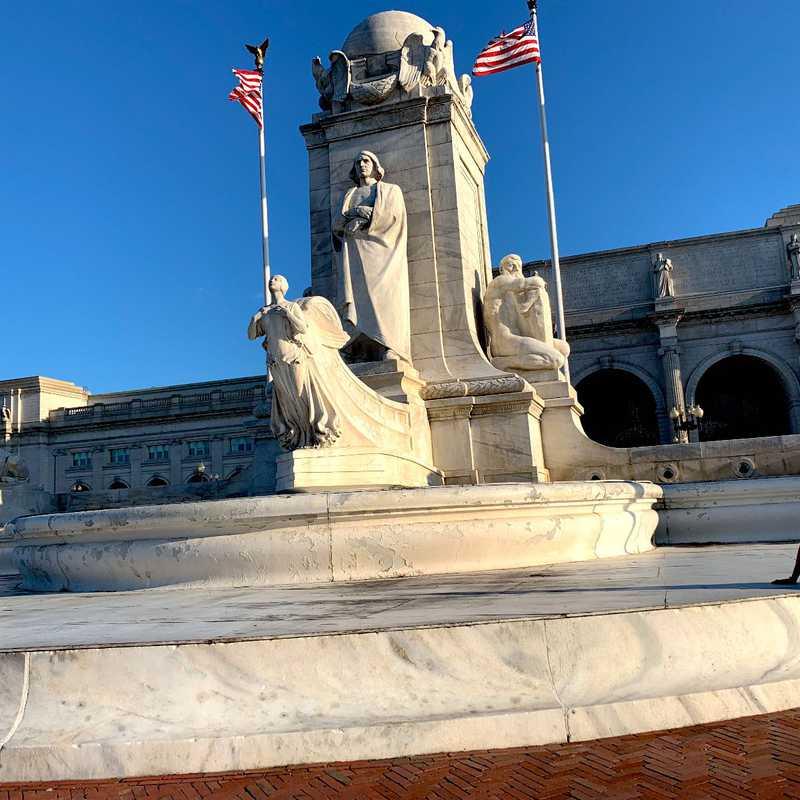 Christopher Columbus Memorial Fountain