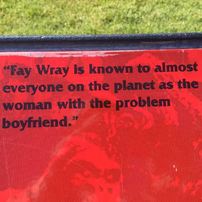 Fay Wray Fountain