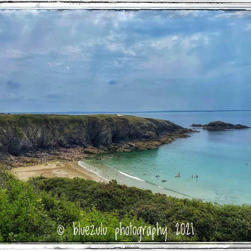 Caerfai Beach