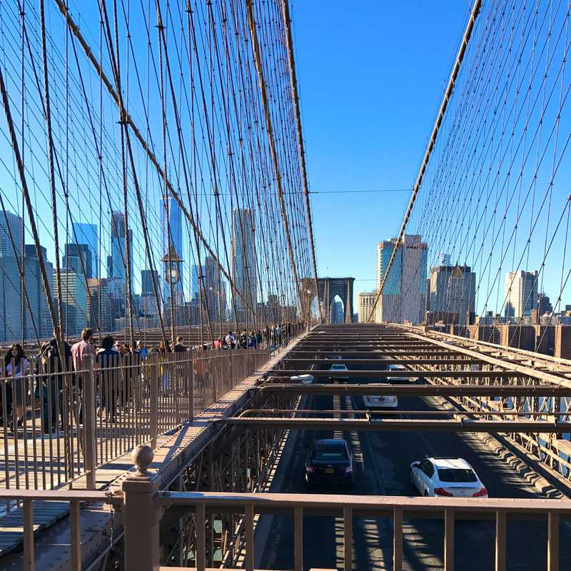 Walk Across Brooklyn Bridge