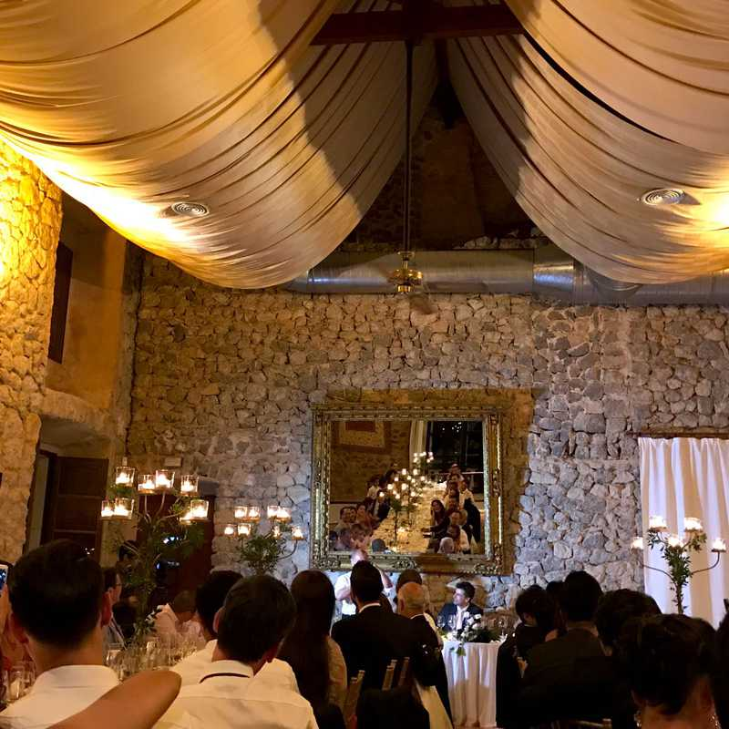Wedding Reception at Son Marroig