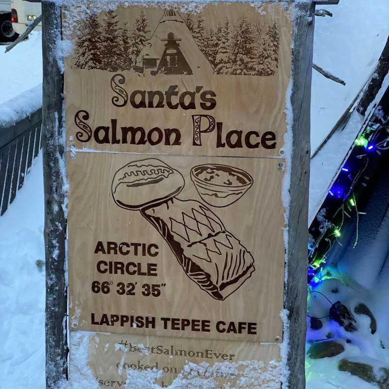 Santa's Salmon Place Restaurant