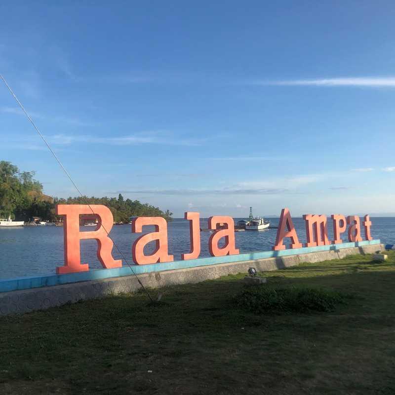 Waisai port, Raja Ampat, West Papua