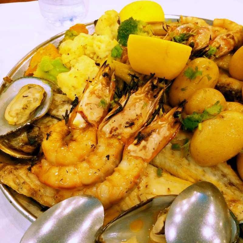 Dinner at Restaurant Mar Do Inferno