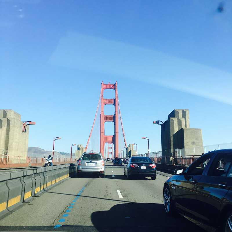 Golden Gate Bridge Vista Point South