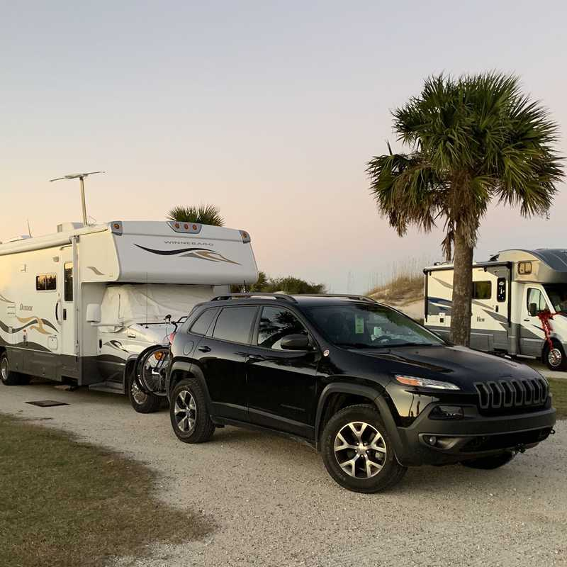 Atlantic Beach Campground - Fort Clinch State Park