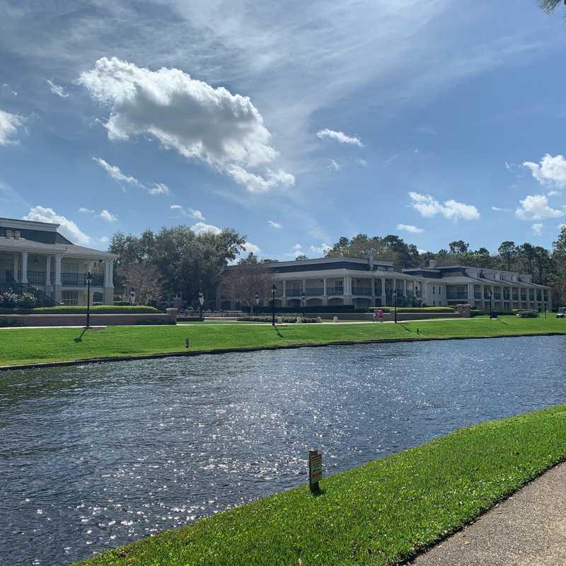 Boat Launch - Disneys Port Orleans Resort - Riverside
