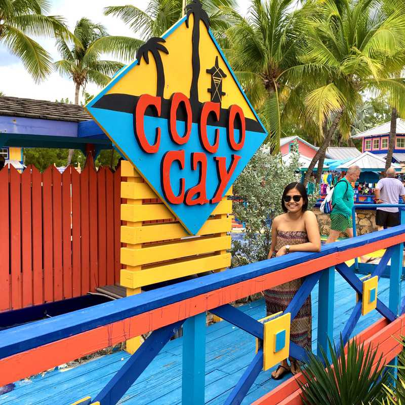 Trip Blog Post by @Imyat: Cococay, Bahamas 2017 🇧🇸 | 1 day in Nov (itinerary, map & gallery)