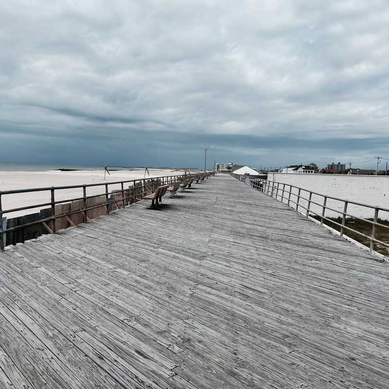 Atlantic Beach boardwalk