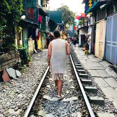 Hanoi Train Street | Travel Photos, Ratings & Other Practical Information