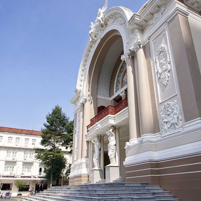 Place / Tourist Attraction: Saigon Opera House (District 1, Vietnam)