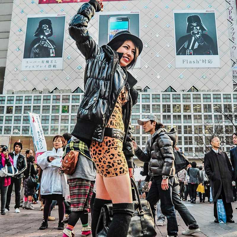Place / Tourist Attraction: Shibuya Crossing (Shibuya, Japan)