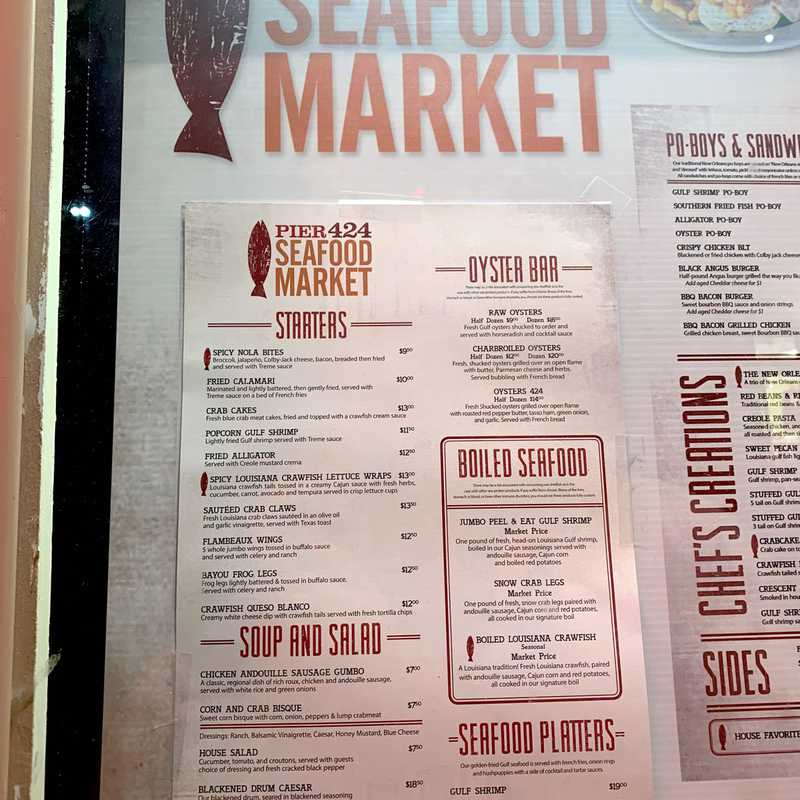 Pier 424 Seafood Market