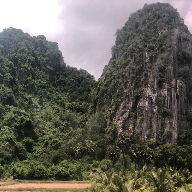 Kampong Trach Mountain Park
