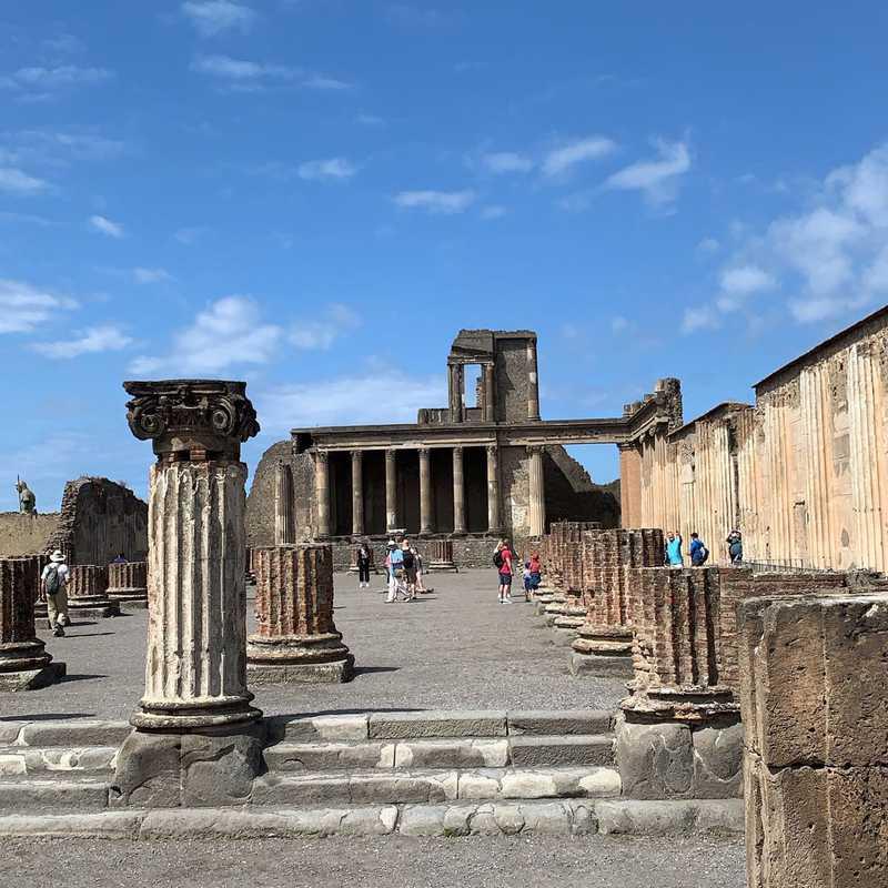 Archaeological Park of Pompeii
