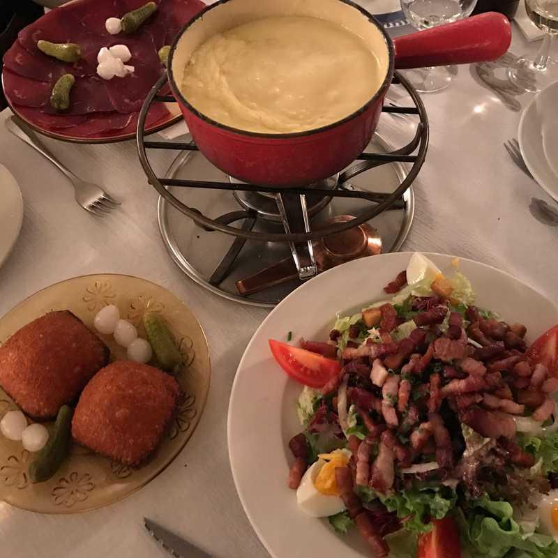 Dinner at Café du Soleil