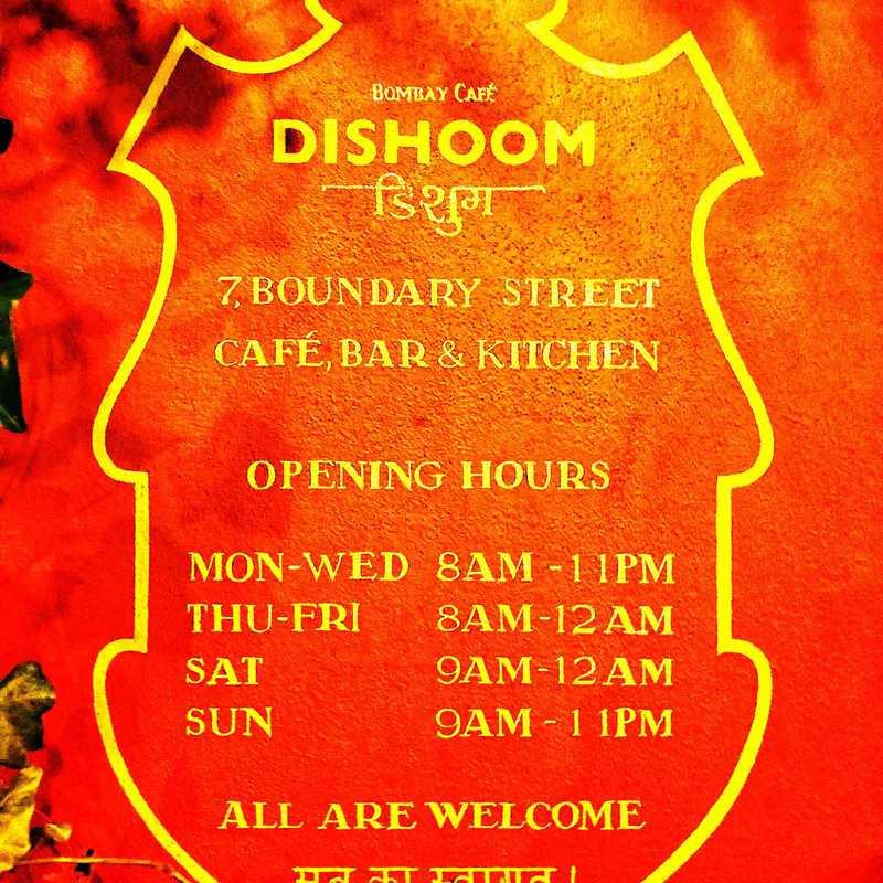 Dishoom Shoreditch