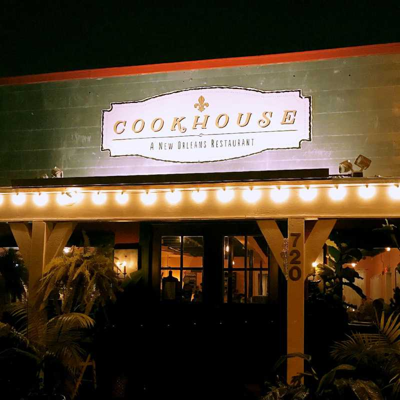 Dinner at Cookhouse