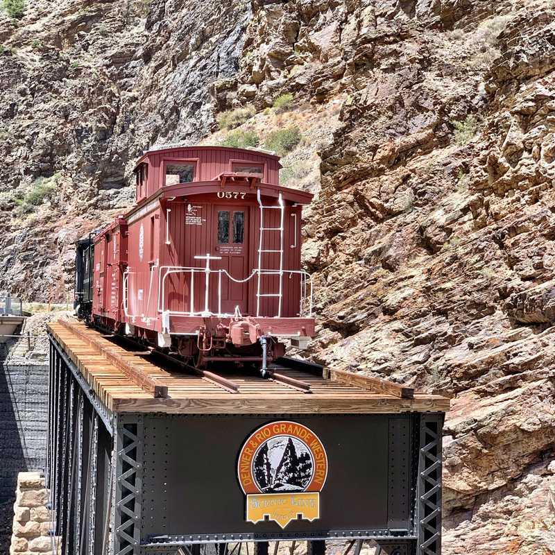 Cimarron Canyon Rail Exhibit
