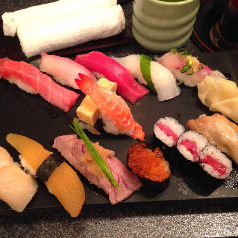 Sushi Zanmai Asakusa Kaminarimon