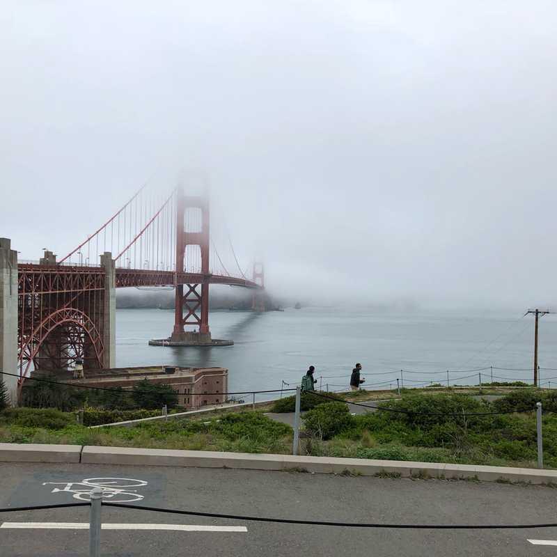 Golden Gate Bridge Outdoor Exhibition