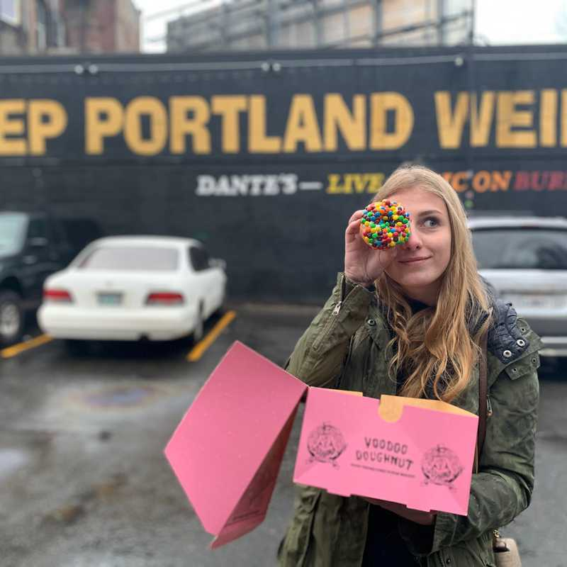 Trip Blog Post by @manoelasartor: Portland | 1 day in Dec (itinerary, map & gallery)