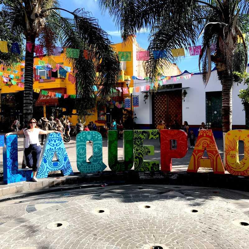 Giant Tlaquepaque Letters