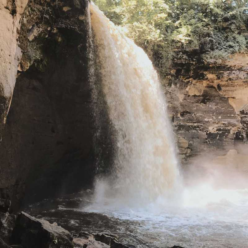Minneopa Day Trip 2020🌊💜🌳 | 1 day trip itinerary, map & gallery