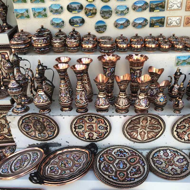 Shop at Old Bazar Kujundziluk